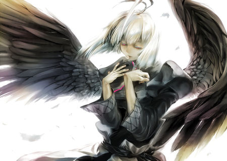 Fallen Angel - Other & Anime Background Wallpapers on