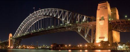 Sydney Harbour Bridge - water, photography, sydney, australia, architecture, harbors, bridges, cities