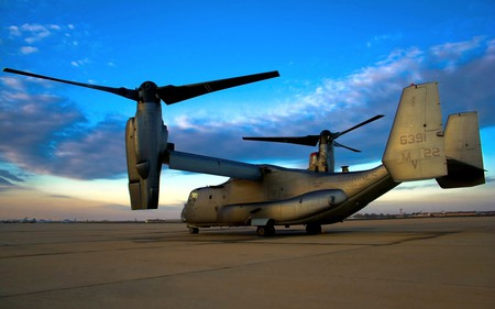 V-22 OSPREY - aircraft, fly, flight, plane, military, airplane