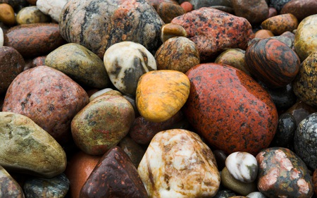 Stones - colorful, beautiful, beaches, nature, stones