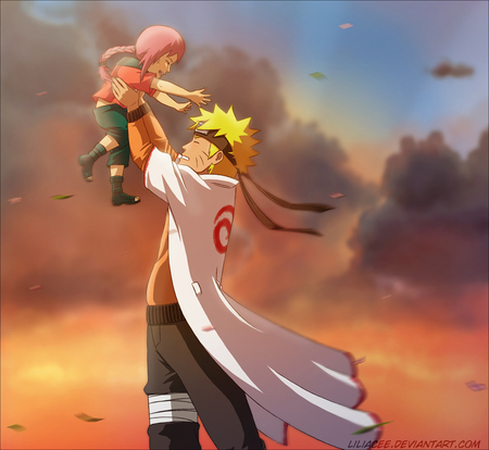 Naruto Child - naruto, future, child, anime