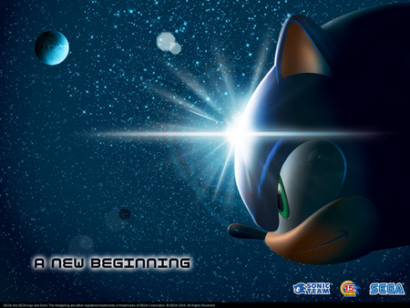 A New Beginning - sassy, sonic the hedgehog, sonic