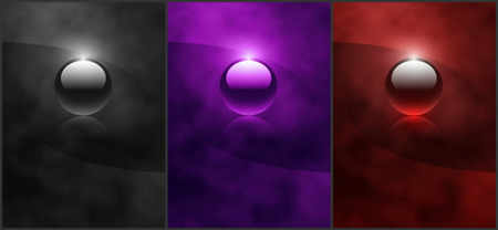 Black Purple Red Jewels - 3D and CG & Abstract Background ...