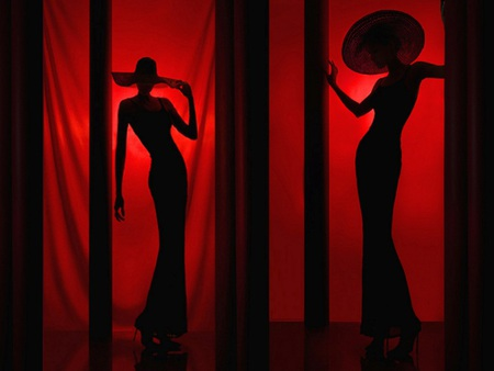 ladies in red other amp abstract background wallpapers on