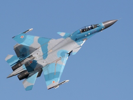 Sukhoi Su-30 - jet, russian, sukhoi, fighter