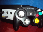 Nintendo Gamecube and Controller Black