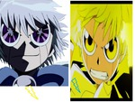 zatch vs. zeno brother fight