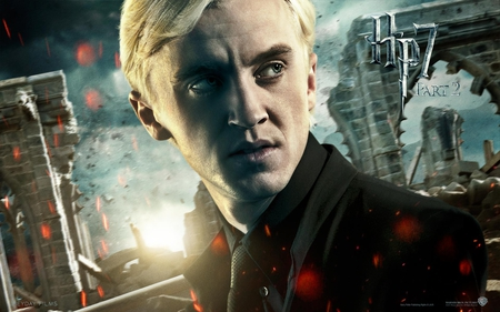 Draco - hogwarts, deathly hallows, harry potter, it all ends, hp7, part 2