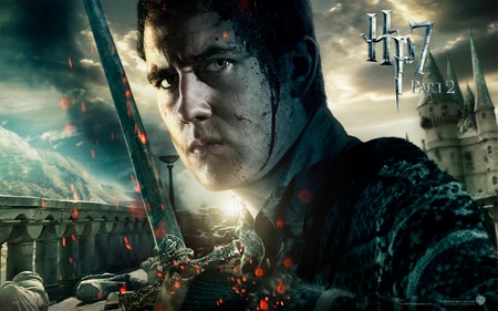 Neville - harry potter, deathly hallows, it all ends, hogwarts, part 2, hp7