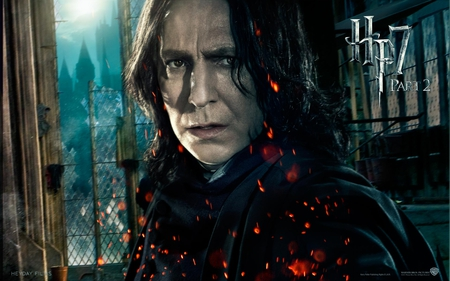 Snape - hogwarts, deathly hallows, harry potter, it all ends, hp7, part 2
