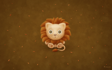 Mac OS X Lion Wallpaper - kid, fun, lion, mac, cute, apple