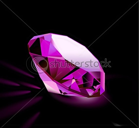 Pink diamond 3d and cg abstract background wallpapers for Pink 3d wallpaper