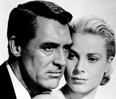 Grace Kelly and Gary Grant - actress, actor, hollywood, classic, gary grant, grace kelly