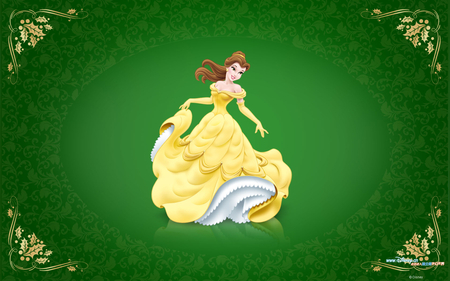 Elegant Princess - cute, yellowdress, princess, elegant