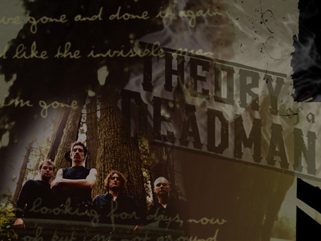 Theory Of A Deadman Logo Wallpaper