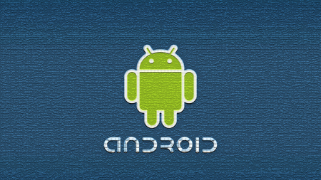 Android'Space'Shot - android, blue, android text, green android white border