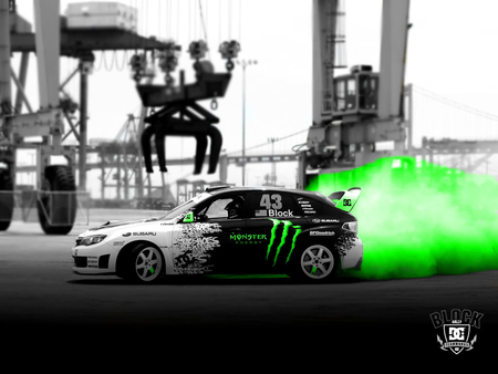 Monster Drift Subaru Cars Background Wallpapers On Desktop