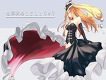 Black Dress Anime