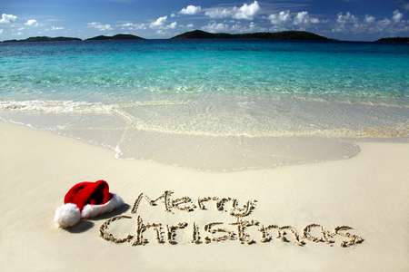 Tropical Christmas - Beaches & Nature Background Wallpapers on ...