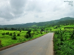 Way to Purandar Fort
