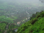 Purandar Fort in Monsoon