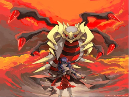 how to get giratina in pokemon fire red
