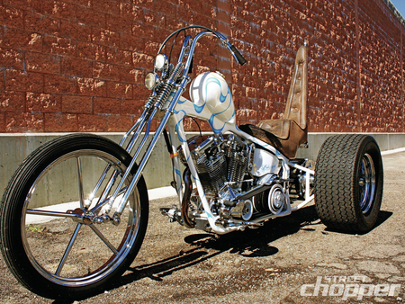 HD Trike - custom, bike, harley, 3 wheels