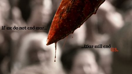 War Will End? - dark, photography, war, blood, bloody, manipulation