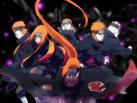 6 paths of pain naruto amp anime background wallpapers on
