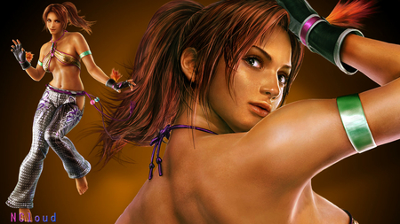 Tekken Fighter Christie Sexy - video game, sexy, christie, tekken