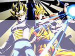 Z Fighters Goku and Vegeta