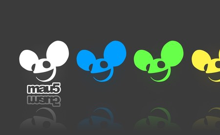 Deadmau5 Wallpaper - cool, blue, abstract, joel zimmerman, mouse, yellow, gray, funny, awesome, white, green, dj producer, cute, canada, dj, electro, 3d, deadmau5, music