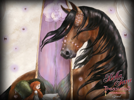 Bella Sara Treasures 2 - horses, animals, magic, fantasy