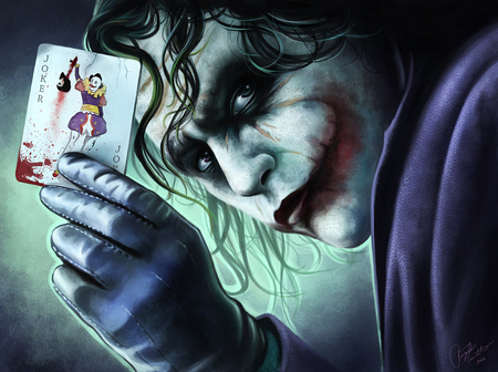 Why so Serious - joker, movie, hd, art, character, card
