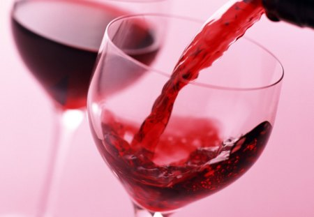 red wine - glass, red, wineglass, wine