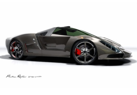 Stingray Dream Design - super, concept, design, sports, stingray, dream, car