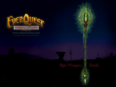 EverQuest Omens of War - epic weapon, itread, druid, everquest
