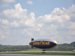 Blimp at Lunken