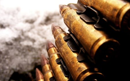 Bullets - cool, nice, photography, awesome, photo, abstract, bullet