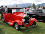 Ford 1928 in Radium Hot Springs car show 28