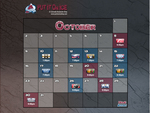 Colorado Avalanche October Schedule
