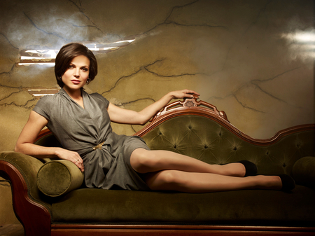 Lana Parrilla - hottie, heels, time, beautiful, babe, pretty, sexy, upon, girl, brunette, lady, woman, eyes, parrilla, brown, a, lana, hot, hair, once, dress