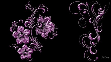amethyst sparkles other abstract background wallpapers