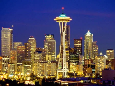 Seattle, Washington (USA) - wa, washington, usa, seattle, city