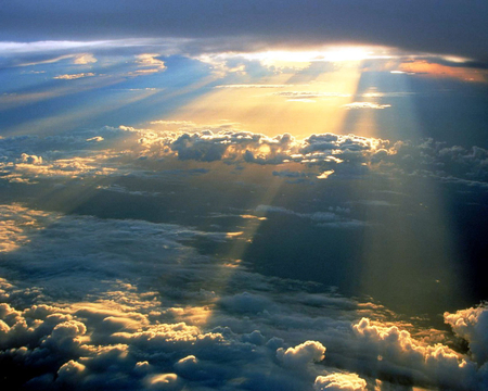 Image result for light shining from the heavens