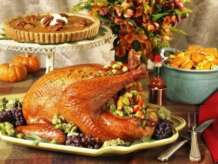 Tavola Restaurant Thanksgiving Menu