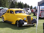 1946 Ford at the  Radium Hot Springs car show 85