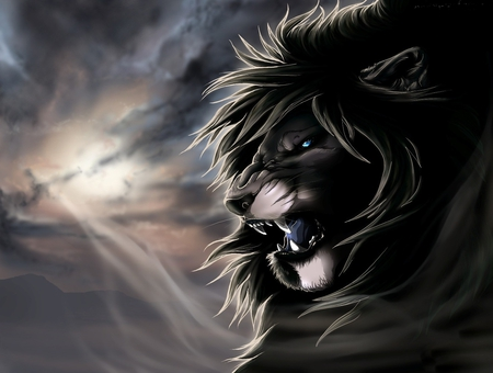 Fantasy lion - photo#20