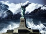 Tidal Wave And Lady Liberty