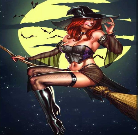 Big with boobs witches Sexy